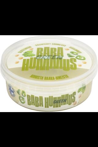 Baba Green Hummus 225g kikhernelevite - dippi