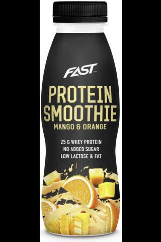 Fast 330ml heraproteiinismoothie appelsiini&mango