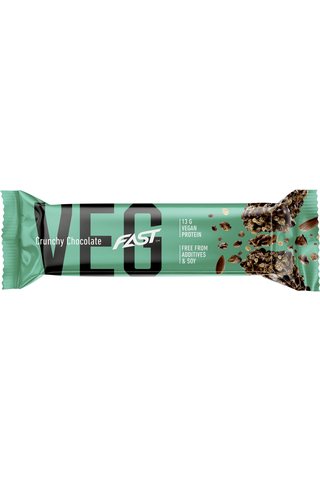 Fast 50g Veg vegaaninen proteiinipatukka rouskuva suklaa