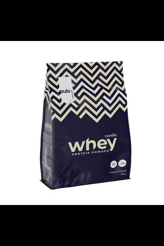 Puls WHEY 550g Vaniljanmakuinen proteiinijuomajauhe