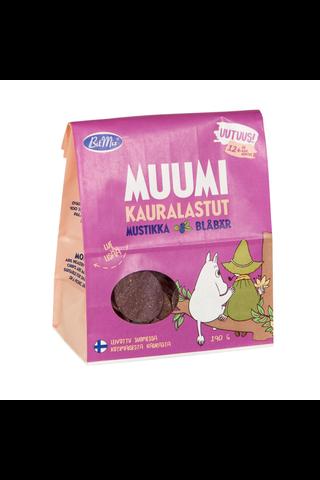 BitMix Muumi Mustikka Kaurasnack 12+ kk 190g