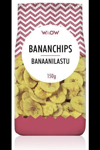WAOW 150g banaanilastu