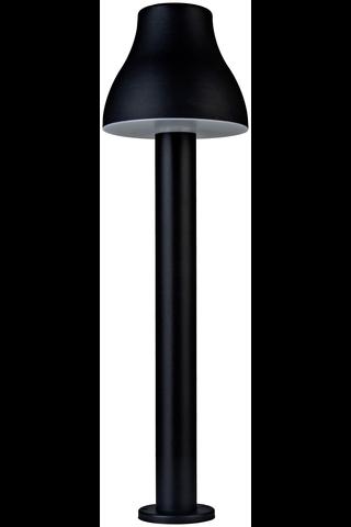 Heat Cep Led LED-ulkovalaisin pylväs 100cm musta