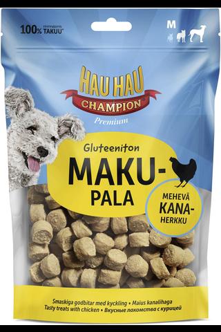 Hau-Hau Champion 120g makupala kana gluteeniton M koiralle