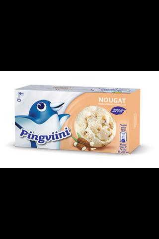 Pingviini 1L/500g Nougat kermajäätelö kotipakkaus
