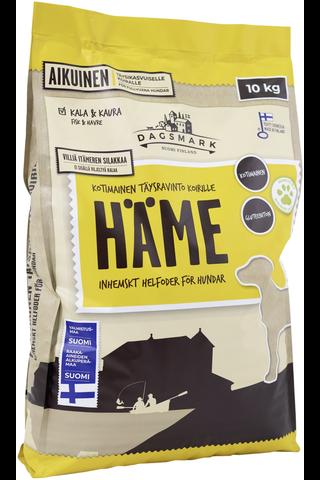 Kotimainen Dagsmark koiran kuivaruoka HÄME 10kg