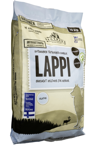 Dagsmark koiran kuivaruoka LAPPI 10kg