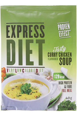 Express Diet 40 g Curry-kananmakuinen keitto -ateria-aines