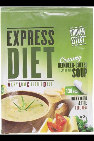 Express Diet ateria-aines savuporon makuinen juustokeitto 40 g
