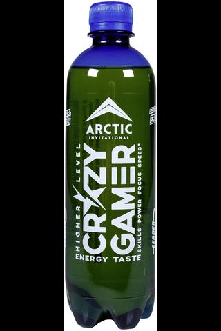 """Leader Crazy gamer virvoitusjuoma hedelmänmakuinen """"Energy taste"""" 500ml"""