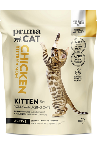 PrimaCat 400g kana kissanpennuille
