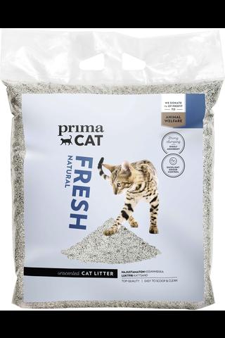 PrimaCat 7 kg Fresh Natural kissanhiekka, harmaa