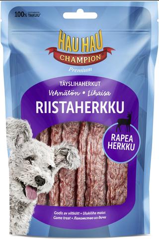 Hau-Hau Champion Täyslihaherkut Riistaherkku 80 g
