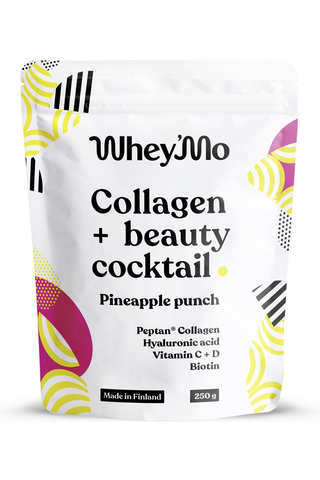 Whey'Mo 250g Collagen Coctail Ananas juomajauhe