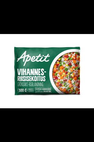 Apetit 300g Vihannes-riisisekoitus pakaste