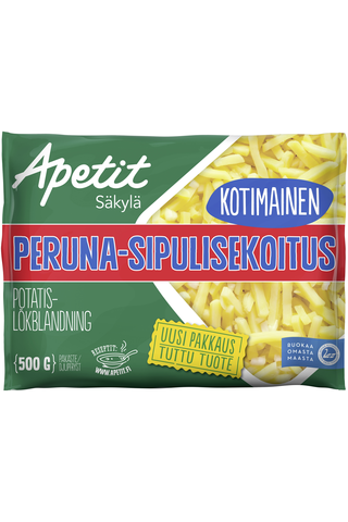 Apetit Kotimainen Peruna-sipulisekoitus pakaste 500g