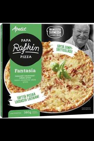Papa Rafkin 380g Fantasia Tomaatti-edam-emmental-pizza Pakaste