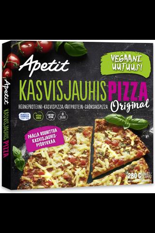 Apetit 280g Kasvisjauhispizza Herneproteiini-kasvispizza