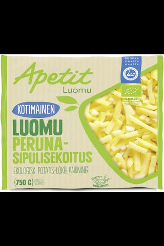 Apetit Kotimainen luomu peruna-sipulisekoitus pakaste 750g