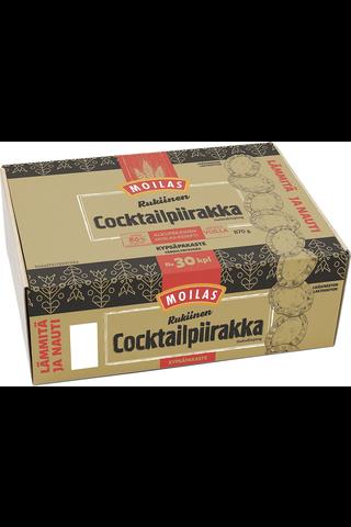 Moilas noin 30kpl/870g rukiinen Cocktailriisipiirakka kypsäpakaste