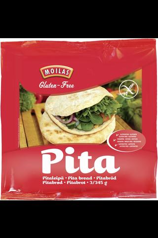 Moilas Pitaleipä 3kpl/345g gluteeniton pakaste
