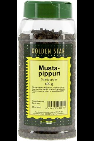 Golden Star 400g Mustapippuri kokonainen