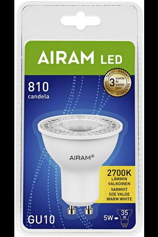 Airam Led 4W PAR16 GU10 36° 3000K 550cd 25 000 h