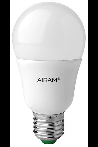 Airam led 9,5W E27 pakkaslamppu opaali 806lm 2800K