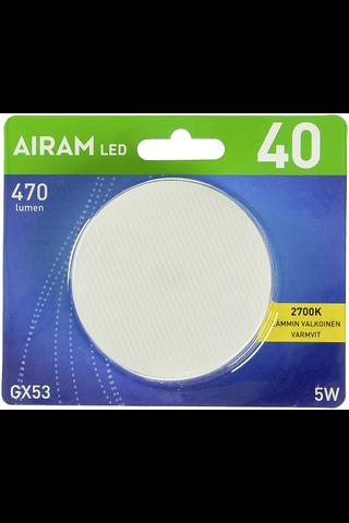 Airam LED kämmenlamppu 5W Gx53 470lm