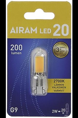 Airam 2w Gu9 Led 250lm 2700k