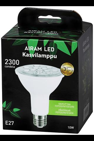 Airam led kasvilamppu 10W E27 800lm 4000K