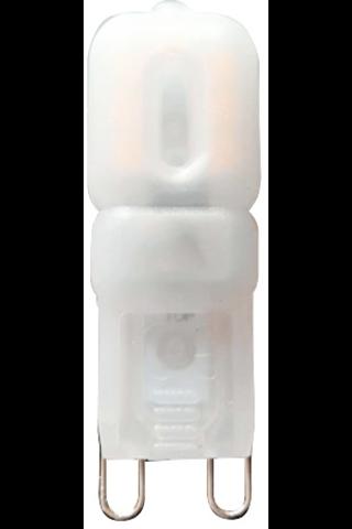 Airam LED polttimo 2,5W G9/2 bl matta 2700K