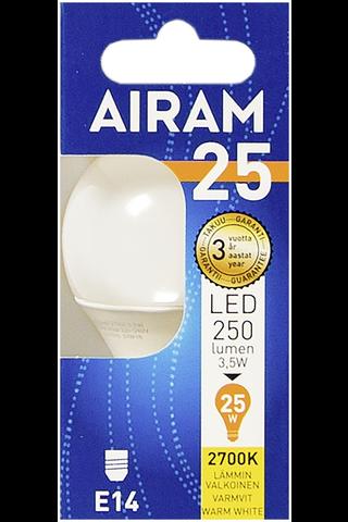 Airam led 3,5W mainos opaali E14 250lm 2700K