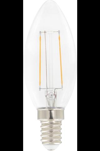 Airam led kynttilä 1,2W E14 136LM kirkas filamentti
