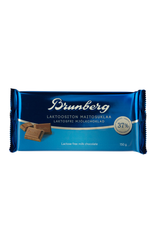 Brunberg 150g maitosuklaalevy laktoositon