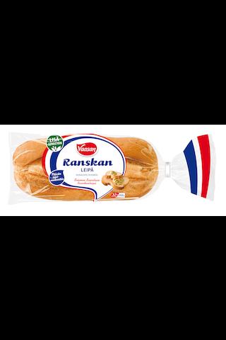 VAASAN Ranskanleipä 350 g vehnäleipä