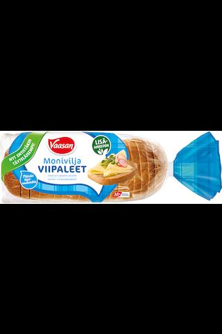 VAASAN Moniviljaviipaleet 520g viipaloitu moniviljaleipä
