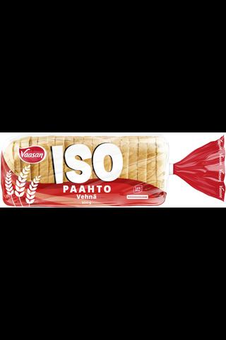 Vaasan ISOpaahto Vehnä 500 g paahtoleipä