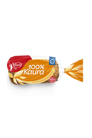 VAASAN 100 % Kaura 400g 6 kpl halkaistu kaurapalaleipä