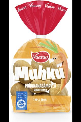 VAASAN MUHKU Porkkanasämpylä 350 g porkkanasämpylä