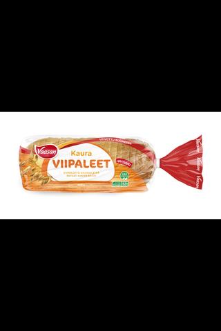 VAASAN Kauraviipaleet 500 g viipaloitu kaurasekaleipä