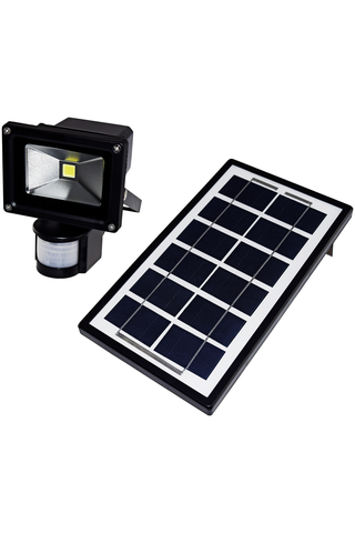 Electrogear 4W led-valonheitin liiketunnistimella ja aurinkokennolla