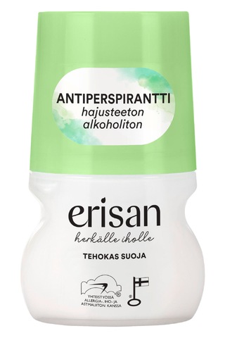Erisan 50ml antiperspirantti roll-on