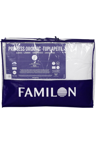 Familon tuplapeite Princess Organic 230x210cm