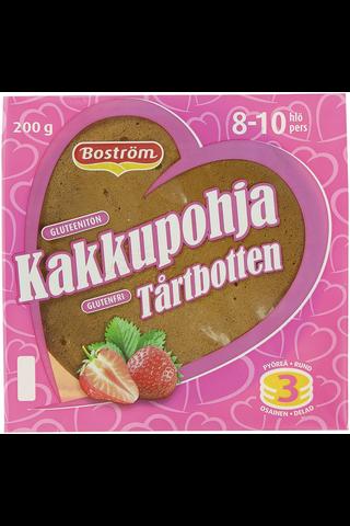 E. Boström 200g kakkupohja gluteeniton
