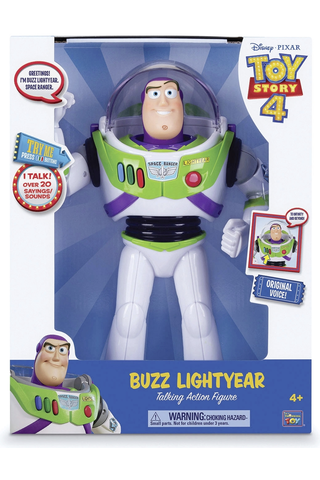 Toy Story puhuva Buzz Lightyear