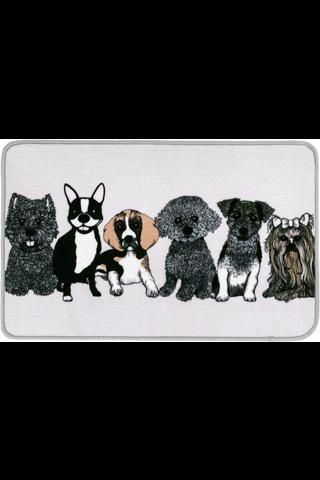 Vallila Doggies 50x80 cm matto