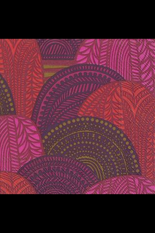 Marimekko Vuorilaakso 20kpl punainen servietti