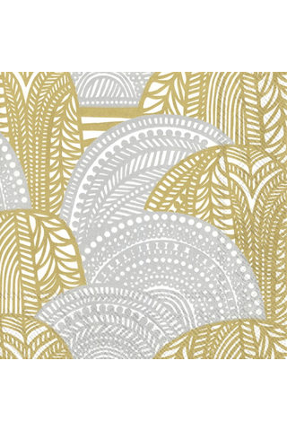 Marimekko Vuorilaakso 20kpl kulta hopea servietti