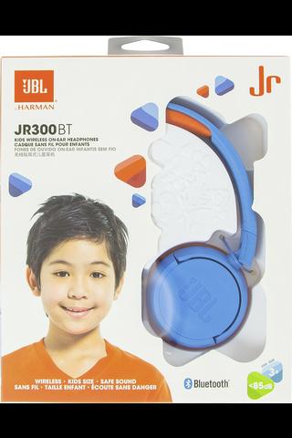 JBL JR300 lasten Bluetooth-sankakuulokkeet sininen/oranssi